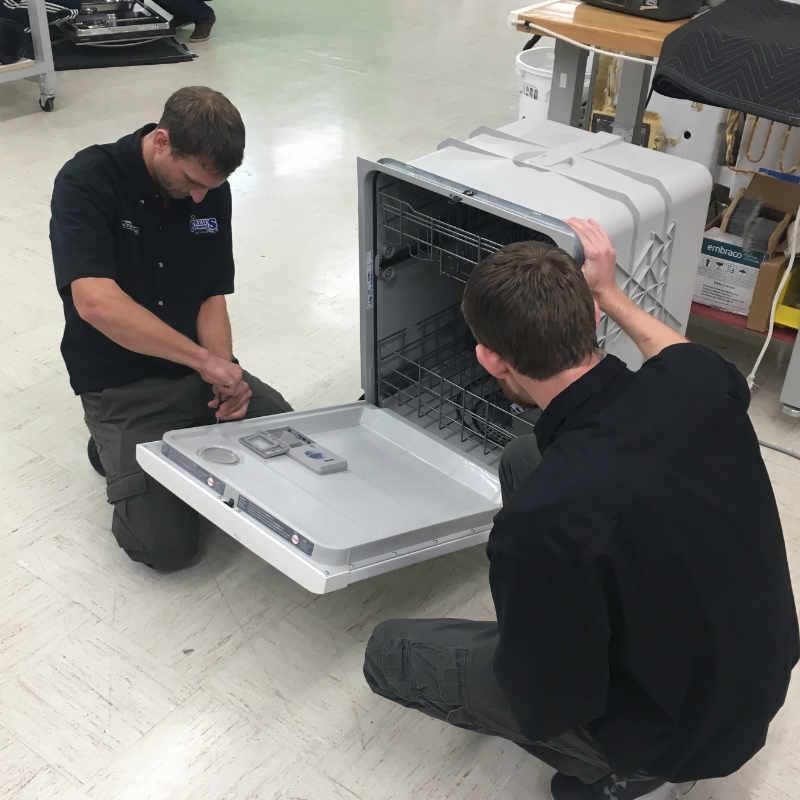 Dishwasher training Appliance repair king