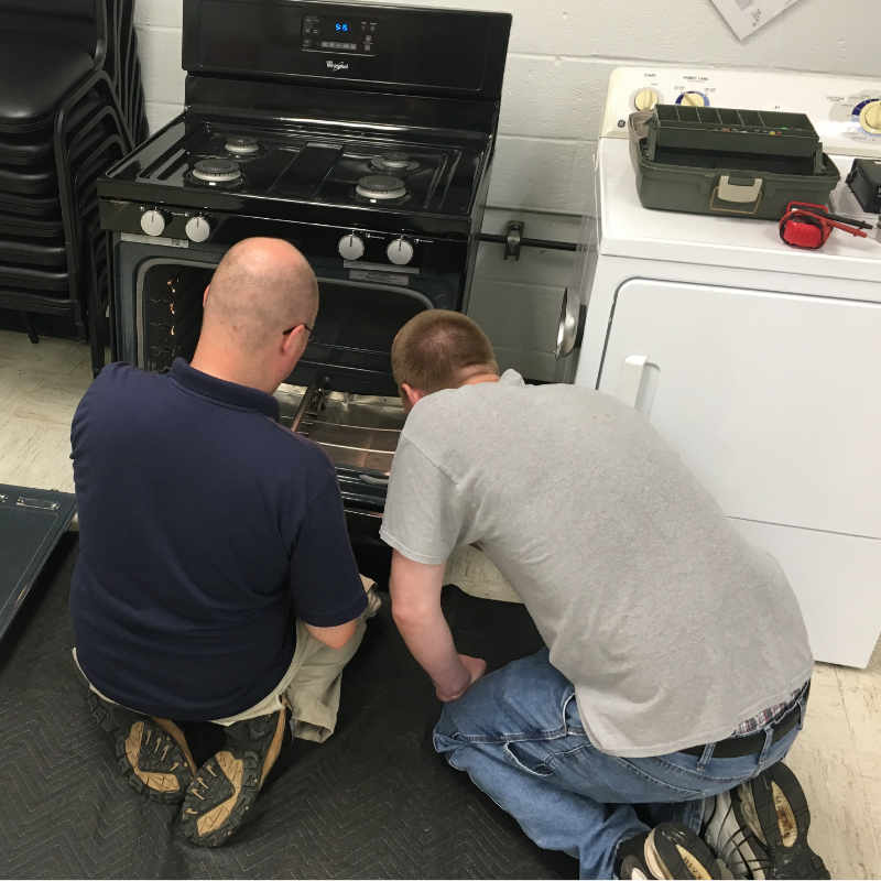 electric and gas stove training Appliance repair king
